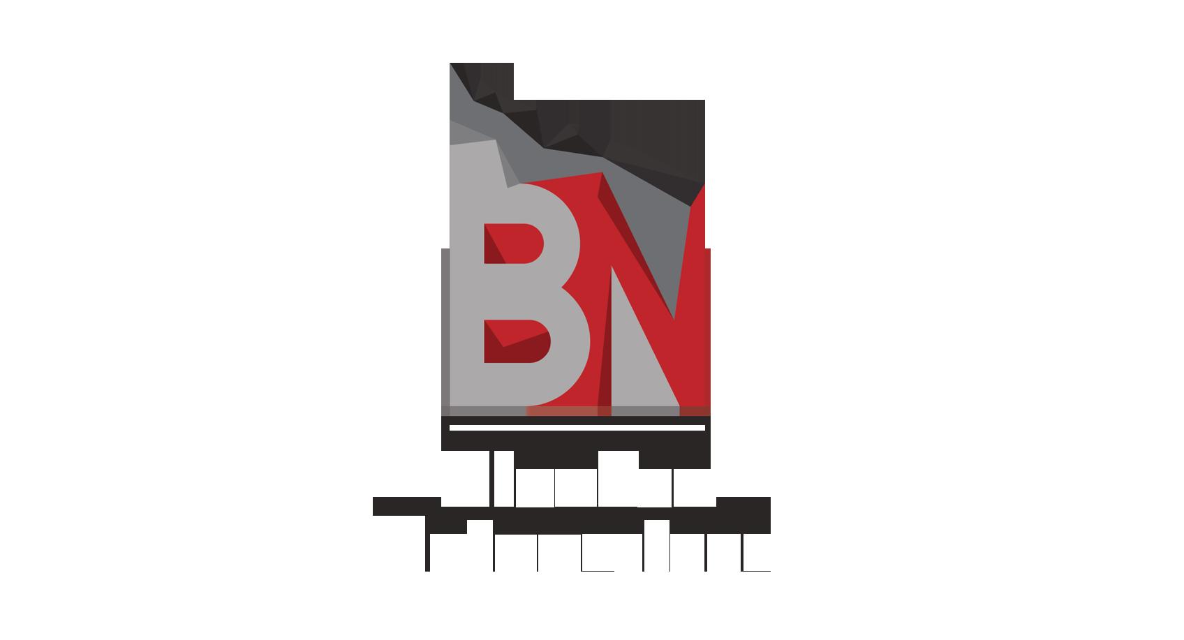 Blanken natuursteen logo
